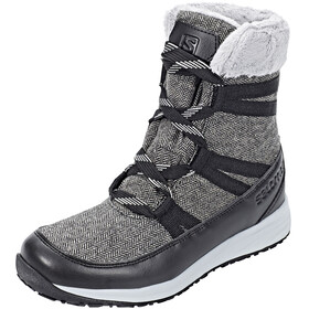 Salomon Heika CS WP Winter Boots Women Black/Quarry/Alloy